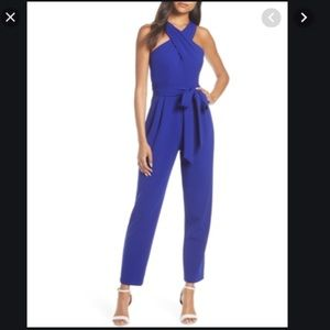 Cross top jumpsuit
